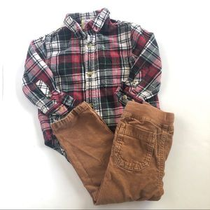 Hanna Andersson flannel